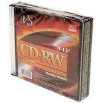 VS CD-RW 80 4-12x SL/5, Перезаписываемый компакт-диск