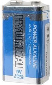HYUNDAI POWER ALKALINE 6LR61 SR1, Элемент питания