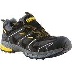 Cutter/12, Cutter Black Steel Toe Men Safety Trainers, UK 12, US 13