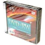 VS DVD+RW 4.7 GB 4x SL/5, Перезаписываемый компакт-диск