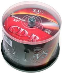 VS CD-R 80 52x CB/50, Записываемый компакт-диск