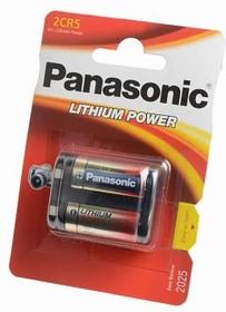 Фото 1/2 Panasonic Lithium Power 2CR-5L/1BP 2CR5 BL1, Элемент питания