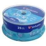Verbatim 43432 CD-R DL CB/25 700MB, Записываемый компакт-диск
