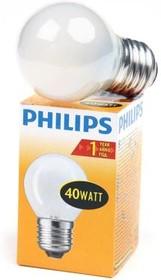 Фото 1/2 PHILIPS P45 40W E27 FR 011220, Лампа
