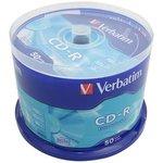 Verbatim 43351 CD-R DL CB/50 700MB, Записываемый компакт-диск