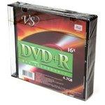 VS DVD+R 4.7 GB 16x SL/5, Записываемый компакт-диск