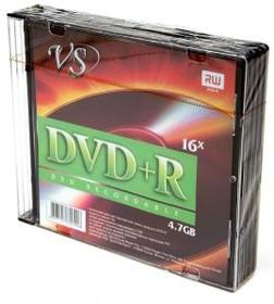 Фото 1/2 VS DVD+R 4.7 GB 16x SL/5, Записываемый компакт-диск