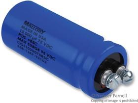 CGS553U016V3L, ALUMINUM ELECTROLYTIC CAPACITOR 55000UF, 16V, +75, -10%, SCREW