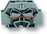 262-301, Клеммная колодка на DIN рейку, 2 вывод(-ов), 28 AWG, 12 AWG, 4 мм², Зажим, 24 А