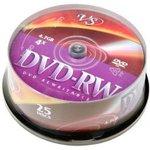 VS DVD-RW 4.7 GB 4x CB/25, Перезаписываемый компакт-диск