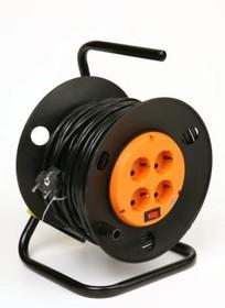 КРОНА КС427030 РС-4 (УР16-0001) 30м (на катушке с зем) (ПВС 3х1.5), Силовой удлинитель