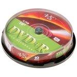 VS DVD+R 4.7 GB 16x CB/10, Записываемый компакт-диск (упаковка из 10)