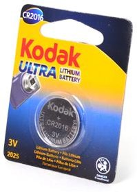Kodak ULTRA CR2016 BL1, Элемент питания