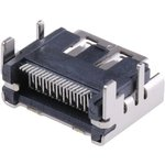 47151-0001, Разъем HDMI, 19 контакт(-ов), Гнездо ...