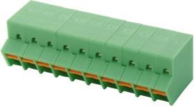 SPTA 1/10-3.5, Клеммная колодка типа провод к плате, 3.5 мм, 10 вывод(-ов), 24 AWG, 16 AWG, 1.5 мм², Вставной
