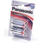Элемент питания Panasonic EVERYDAY power LR14/2BP