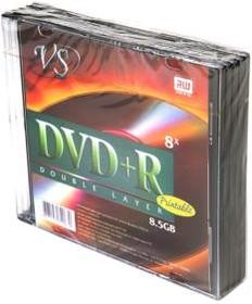 Фото 1/2 VS DVD+R 8.5 GB 8x SL/5 Double Layer Ink Print, Записываемый компакт-диск