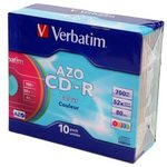 Verbatim 43308 CD-R 80 52х DL + SL/10 Color ...