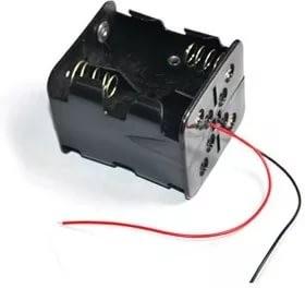 KLS5-4E-B (FC1-5167), Батарейный отсек 4xC