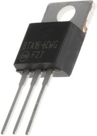 BTA16-600CW3G, Симистор 16А 600В, 25мА Standard [TO-220AB]