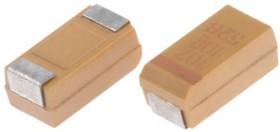 T491C107K010AT, Cap Tant Solid 100uF 10V C CASE 10% (6 X 3.2 X 2.5mm) Inward L SMD 6032-28 1.2 Ohm 125C Automotive T