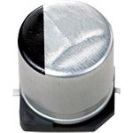 Фото 2/2 ECAP SMD, 220 мкФ, 50В, Конденсатор электролитический алюминиевый SMD