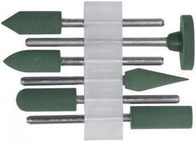 Насадка FIT 36923 насадки резиновые полировальные мелкой зернистости набор 6шт.