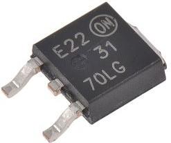 NTD3055L170T4G, Trans MOSFET N-CH 60V 9A 3-Pin(2+Tab) DPAK T/R