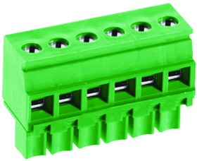 MCTC-56A03, TERMINAL BLOCK PLUGGABLE, 3 POSITION, 24-16AWG, 3.5MM
