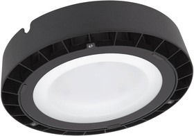 Фото 1/3 4058075408425, Светильник светодиодный ДСП-100Вт 6500K 10000Лм IP65 черный хайбей силикатное стекло LEDVANCE