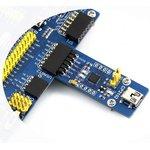 Фото 7/7 CP2102 USB UART Board (mini), Преобразователь USB-UART на базе CP2102 с разъемом USB mini-AB