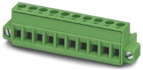 1778124, Conn Terminal Block F 16 POS 5.08mm Screw RA Panel Mount 12A