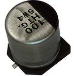 EEETG1H330UP, SMD электролитический конденсатор, Radial Can - SMD, 33 мкФ, 50 В ...