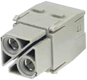 09140022753, Conn Power F 2 POS Screw ST Cable Mount 2 Terminal 1 Port Han-Modular®