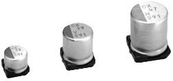PCX1H220MCL1GS, ALUMINUM ELECTROLYTIC CAPACITOR, 22UF, 50V, 20%, SMD