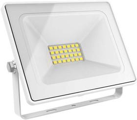 Прожектор светодиодный Elementary 30Вт 2100лм IP65 6500К бел. Gauss 613120330