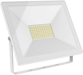 Фото 1/2 Прожектор светодиодный Elementary 100Вт 7000лм IP65 6500К бел. Gauss 613120300