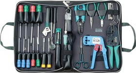 1PK-818B, Набор инструментов для обслуживания LAN (32 предмета)
