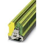 USLKG 3, Клемма 3 мм2, желто-зеленая