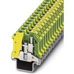 0442082, USLKG 10 N-1 Series Earth Modular Terminal Block, Screw Termination
