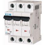 Выключатель автоматический модульный 3п C 10А 6кА PL6 EATON 286599