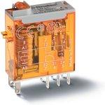 Реле миниатюрное промышленное электромеханич. монтаж в розетку или наконечники ...