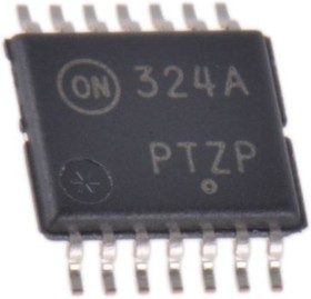 LM324ADTBG, ANA LO PWR OP AMP QUAD