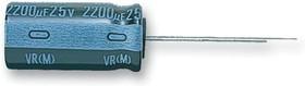 UVR1V472MHD, Электролитический конденсатор, миниатюрный, 4700 мкФ, 35 В, Серия VR, ± 20%, Радиальные Выводы