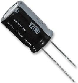 UVZ2G4R7MPD1TD, Электролитический конденсатор, 4.7 мкФ, 400 В, Серия VZ, ± 20%, Радиальные Выводы, 10 мм