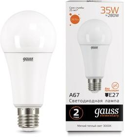 Лампа светодиодная Elementary A67 35Вт E27 2670lm 3000K
