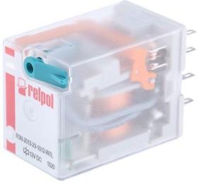 R3N-2013-23-1012-WTL, Industrial relay, 3PDT, 1