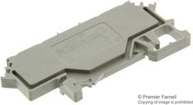 280-606, Conn Terminal Block 4 POS T DIN Rail 20A Box