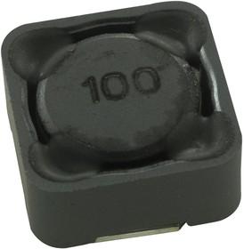 Фото 1/2 SRR1260-100M, Силовой Индуктор (SMD), 10 мкГн, 5.5 А, Экранированный, 5.5 А, Серия SRR1260, 12.5мм x 12.5мм x 6мм