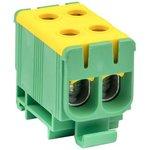 Клемма силовая вводная двойная КСВ 16-50кв.мм желт./зел. EKF plc-kvs2-16-50-y-green